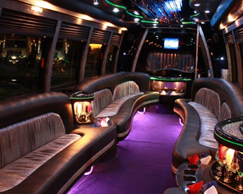 Bachelor Party Limousine Bus